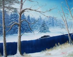 Blue River by fayealane