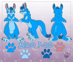 Bloo Roo by nanook123