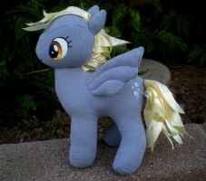 Derpy Hooves rag doll by joitheartist