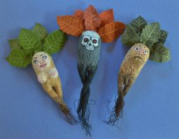 Tuberous Personages by imagination-heart