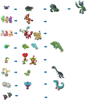 All Finished Sprites by hollow-shell