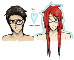 ISColab - Will x Grell by Brixyfire