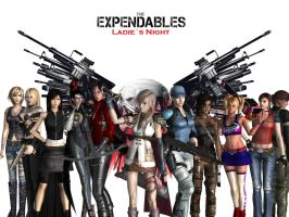 The Expendables Ladies Night by Dantefreak