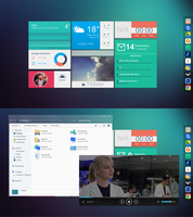 18.10.13 | Windows 7 | Flat UI Desktop by Nachosaurio