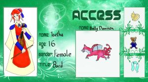 Access Academy - Taetha by sconesandpancakes
