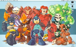 MEGAMAN WALLPAPER by Zotgar