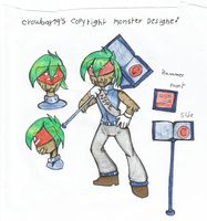 Copyright Monster Contest for Mad Munchkin by 19crowbar19
