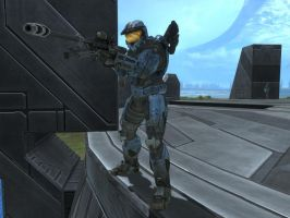 Church in Halo Reach by KATTALNUVA
