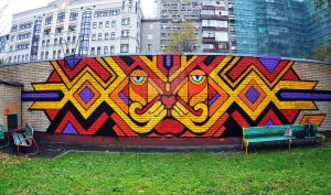 Lion Graffity by GroooveRider