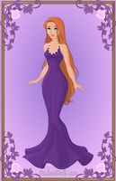 Giselle { Purple Gown } by kawaiibrit