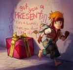 Freedom Fall: I got you a present by Risachantag