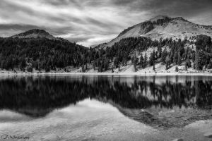 Lake Helen in black and white by novelhill