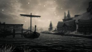 Snowy River 2 (Skyrim) by mattboggs
