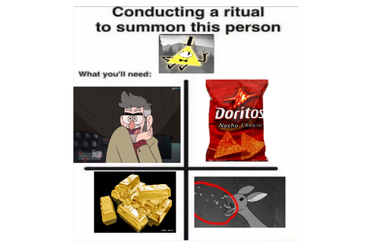 How to summon Bill Chipher by ScribblyFandoms7