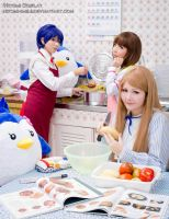 Making dinner by Hitomi-Cosplay