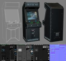 3D - Arcade Machine - Updated by raykitshum