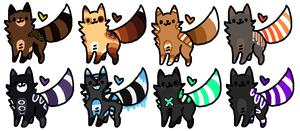 Feline Adopts [6/8 Open] by Mulch-Adopts