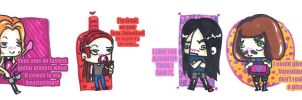Dethklok V-Day Cards by Gainstrive