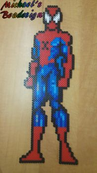 Spiderman by beadesign by Bead-design