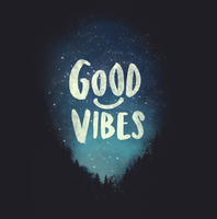 GOOD VIBES by dandingeroz