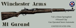 Winchester Arms M1 Garand by SquireJames
