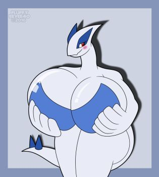Lugia Bust by FluffyEevee40