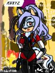 KHRYZ as a future cop by lunitaproductions