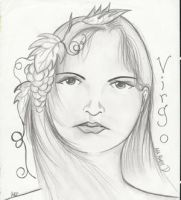 virgo by andartist