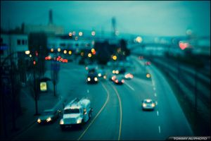 View from an Overpass by tommyauphoto