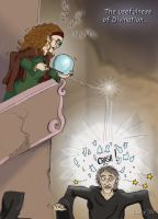 Trelawney's greatest moment by Loony-Lucy