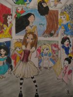 Disney Characters....? by decomposerdoll