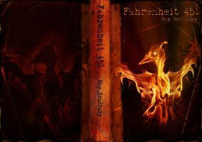 Fahrenheit 451 Cover by excess1ve