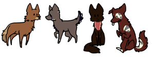 ::Adoptables:: by thestarfruit