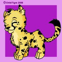 Cheetah by ChibiTigre