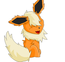 Flareon (request) by thelongdreamer