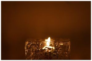 Ice candle by woodstock1212