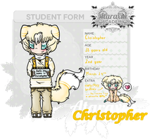 Ataraxia Academy || Christopher the Meowstic by Yalue