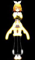 MMD - Append Rin by YellowDesuCake