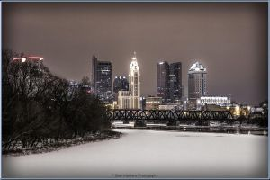 City Skyline by BrianMPhotography