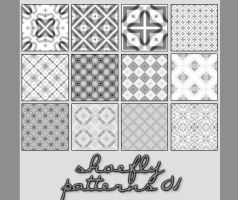 Pattern set 01 by shoe-fly