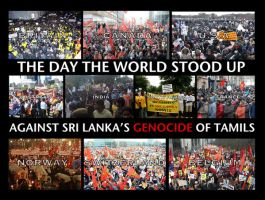 The Day The World Stood Up by StopGenocideDotCA