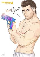 Nathan Drake in action! by iszac87
