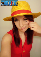 Fem Monkey D. Luffy Cosplay WIP-One Piece by Hamm-Sammich