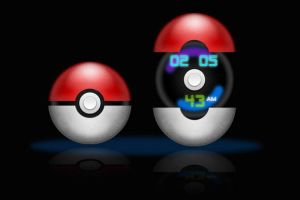 Pokemon Clock for XWidget by boyzonet