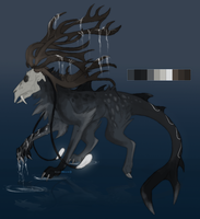 Custom adoptable - Commission by ShadeDreams