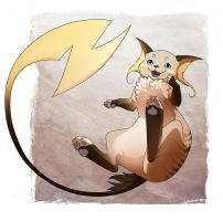 Birman Raichu by we-were-in-love