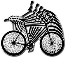 Black And White Bike by mrcolortvjr