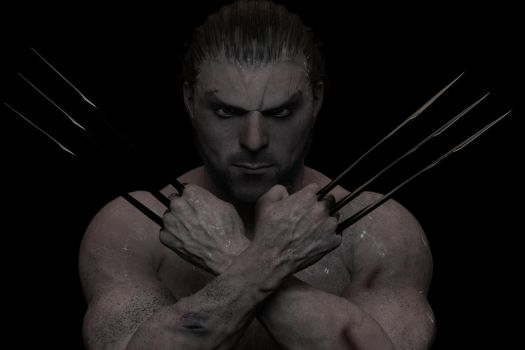 Me as Wolverine by rayspirit