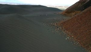 Pumice tailings and Volcano by TimBakerFX