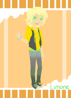 TEOC::Limone's Dandy Outfit by BabyGarnetgirl